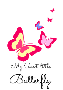 palkat motyl różowy