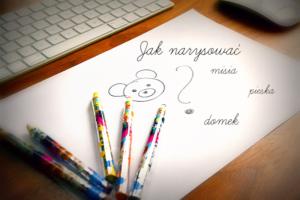 jak-narysować-misia-pieska-nauka -rysowania-dla-dzieci