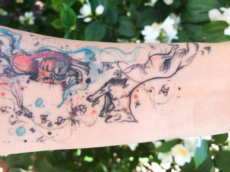tatuaż-lisy